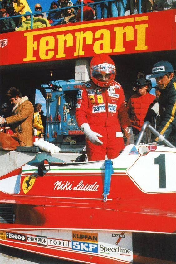 Niki Lauda, Ferrari 312T2 1976
