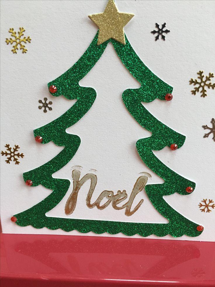 Christmas Tree Card Sizzix Die