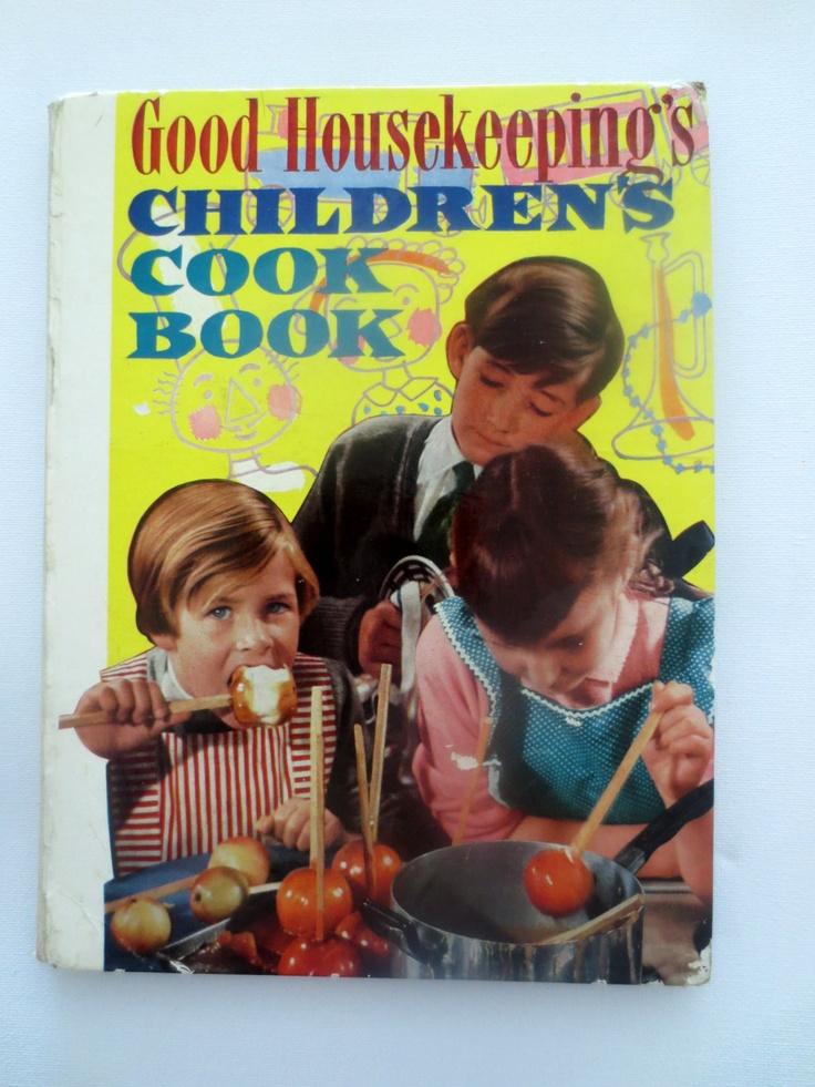 Good Housekeeping's Children's Cook Book (1958) - Vintage Children's Cookbook
