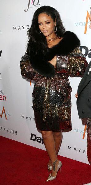 "Rihanna Photos: The DAILY FRONT ROW ""Fashion Los Angeles Awards"" Show - Arrivals"