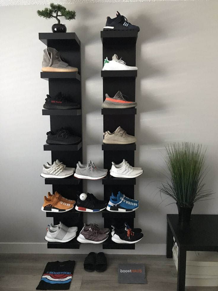 Incredible Shoe Rack Ideas Sneakerhead Room Closet Shoe Storage