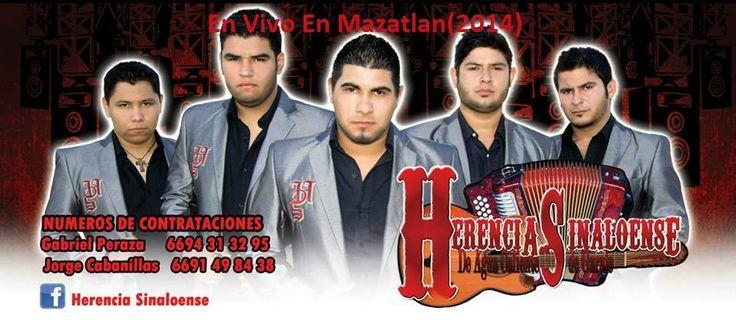 Herencia Sinaloense  – En Vivo En Mazatlan 2014