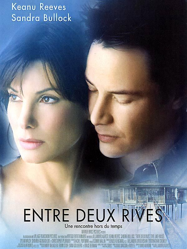 Entre deux rives est un film de Alejandro Agresti avec Keanu Reeves, Sandra Bullock. Synopsis : Le Docteur Kate Forster s'apprête à entamer une nouvelle carrière et une nouvelle vie dans un grand hôpital de Chicago. Son seul regret : abandonner l