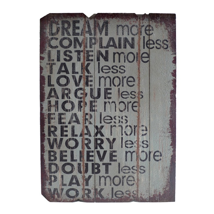 Wise Words Wall Décor