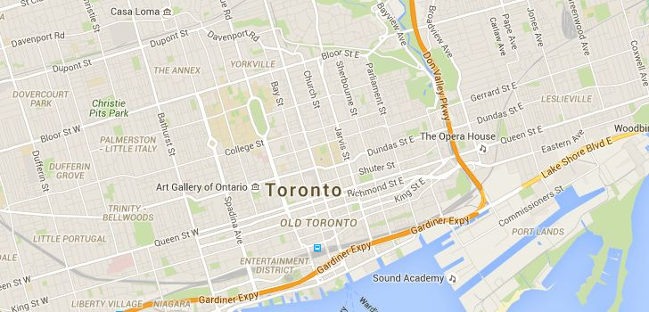 TaxiFareFinder - $17.80 taxi fare from Royal Ontario Museum, Queens Park, Toronto, ON, Canada to 12 Douville Ct, Toronto, ON, Canada using Toronto, ON, Canada taxi rates