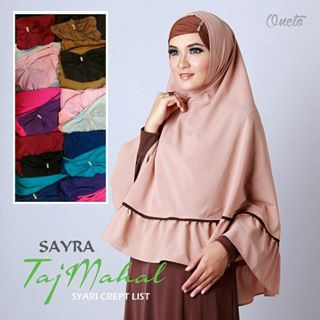 Jilbab Instan Cantik Sayra Taj Mahal,  dropship jilbab, grosir jilbab cantik, jilbab instan cantik, jilbab instan syari, jilbab model terbaru, reseller jilbab murah tanpa modal