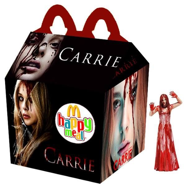 """Carrie (2013)"" Happy Meal"