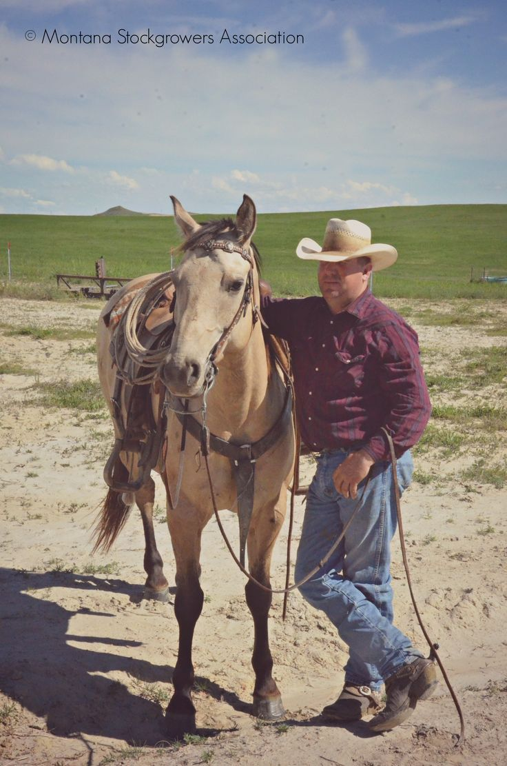 #Montana cowboy at Wang Ranch Branding. ~ Montana ...