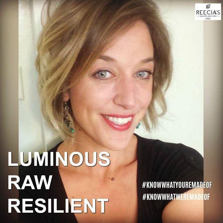 Tessa Warrick Is Luminous Raw Resilient Knowwhatyouremadeof Knowwhatweremadeof Tessa Warrick Stylist Nails Waxing Te Aveda Hair Hair Stylist Hairdo