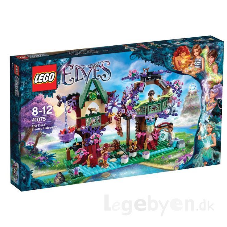 LEGO ELVES Elvernes Trætophule - 41075 - 505 dele.