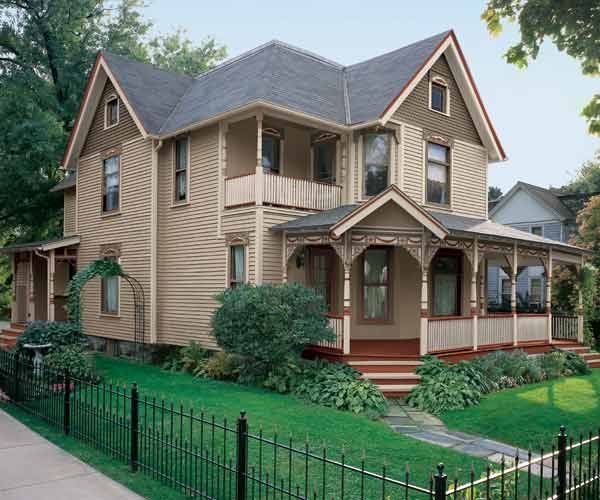 Paint Color Ideas For Ornate Victorian Houses Queen Anne