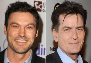 "Brian Austin Green is the latest actor who's getting into it with Charlie Sheen. For the moment, however, that only means Green's character.  He's joining the cast of Sheen's FX sitcom ""Anger Management"" to play the role of Charlie's nemesis Sean."