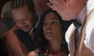 """What Happened To Giuliana On Empire?  Where is Lucious' ex-girlfriend Giuliana (Nia Long)? In Empire'sseason 3 finale """"Toil and Trouble Part 2"""" we saw Lucious and Giuliana handling business at Leviticus in Las Vegas. Charlotte (Eva Longoria) warns them that she doesn't want to see a repeat of the Tupac incident and they assure her that she won't.  Lucious has a change of heart in Vegas and tells Giuliana to kick rocks. He has plans to get back with Cookie and tells Andre that he's in control…"""