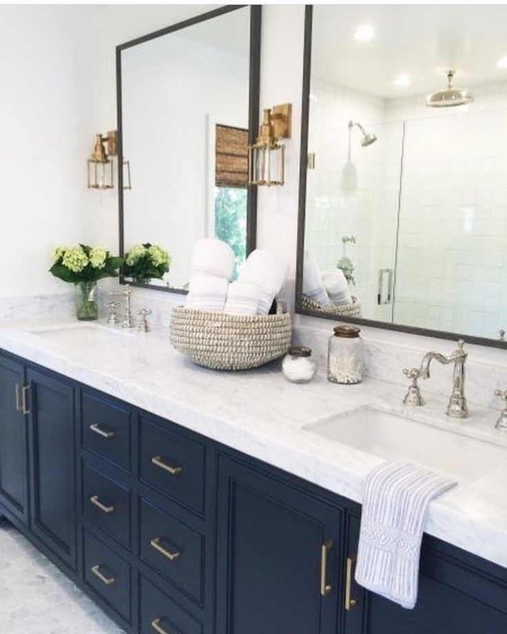 Like the double mirrors and drawers