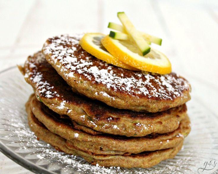 Lemon Zucchini Freezer Pancakes | Grounded & Surrounded