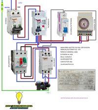 Esquemas eléctricos: motor bomba depuradora de agua para piscina monofa...