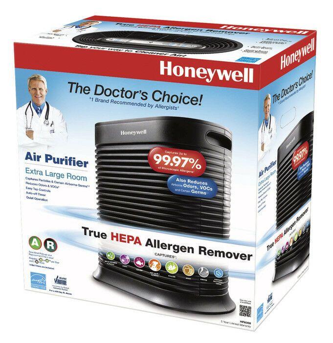 Honeywell Hpa300 True Hepa Air Purifier 465 Sq Ft Room Capacity Black Tower By Air Purifier Reviews Honeywell Air Purifier Hepa Air Purifier