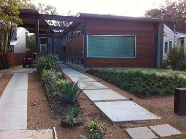 Modern front yard landscape design ideas pictures for Front yard renovation ideas