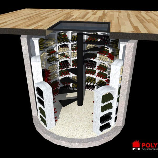 Cave A Vin Enterree En Beton Polycave In 2020 With Images