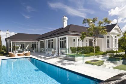 Villa in Ak, pool view
