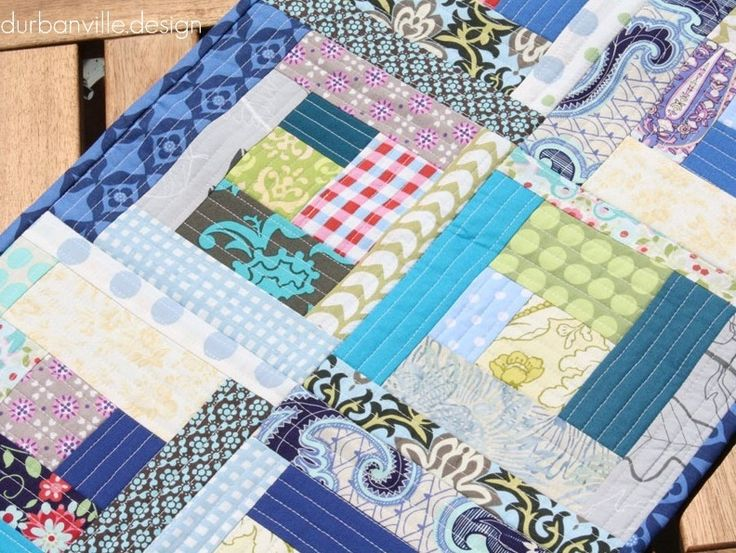 how to quilt as you go on horizontal