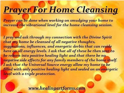 Home Cleansing Prayer                                                                                                                                                                                 More