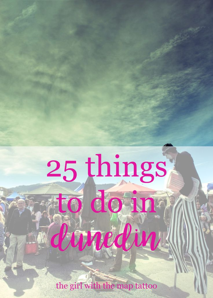 25 things to do in Dunedin, New Zealand. Outdoor activities, tour recommendations, and more.