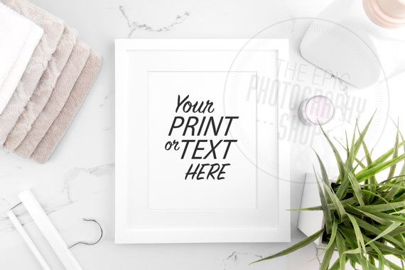 Styled Stock Photography / Print Background / Blank Frame / Product Photography / Staged Photography / Beige Brown Towels / Laundry / LR016