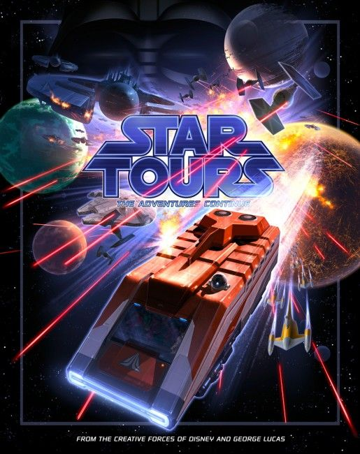 Star Tours The Adventures Continue-Disney World Hollywood Studio