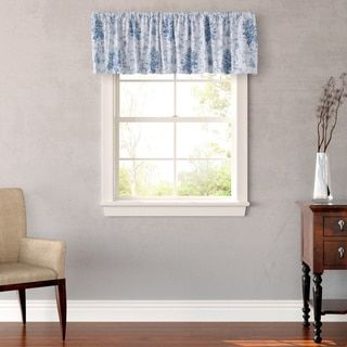 Shop for Laura Ashley Sophia Cotton Valance. Free Shipping on orders over $45 at Overstock.com - Your Online Home Decor Outlet Store! Get 5% in rewards with Club O!