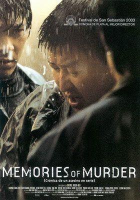 SOSPECHOSOS CINÉFAGOS: MEMORIES OF MURDER (CRÓNICA DE UN ASESINO EN SERIE) (2003)