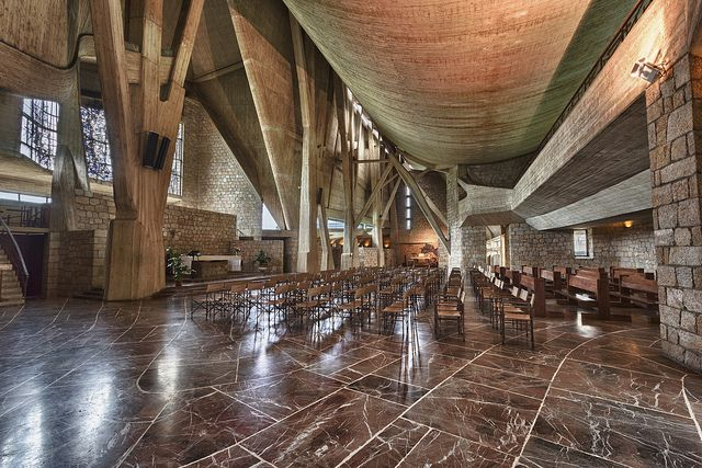 Chiesa dell'Autostrada del Sole - Giovanni Michelucci, 1964