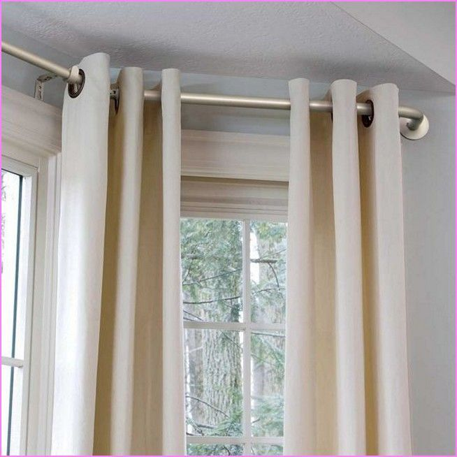 The Most Effective Solutions To Your Bay Window Curtains Bay Window Curtains Living Room Bay Window Living Room Bay Window Curtain Poles