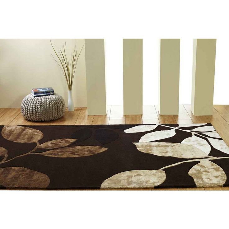 Orient Floral Unique Rug by Ultimate Rug Designed with a bold and sumptuous floral theme, this rug will help in bringing a summery aura to your home. #woolrugs #luxuriousrugs #floralrugs #handmaderugs #modernrugs