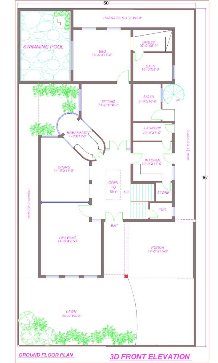 9 best House plans images on Pinterest House design Arquitetura