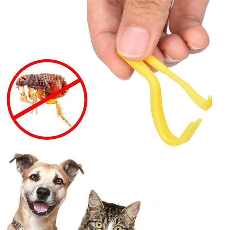 2PCS Tick twister Hook Tool Remover Pack x 2 Sizes Human/Dog/Pet/Horse/Cat pet AL Jun15 Professional Factory price Drop Shipping
