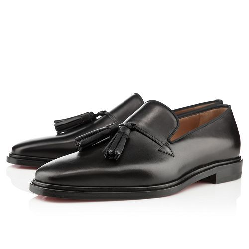 Christian Louboutin Daddy Orlato Loafers Black Leather