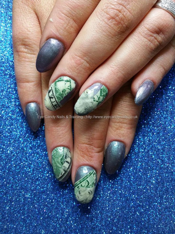 4695 best eye candy beautiful nail art images on pinterest eye eye candy nails training gel polish with inlaid american dollar bill nail art by elaine moore on 28 november 2015 at prinsesfo Image collections
