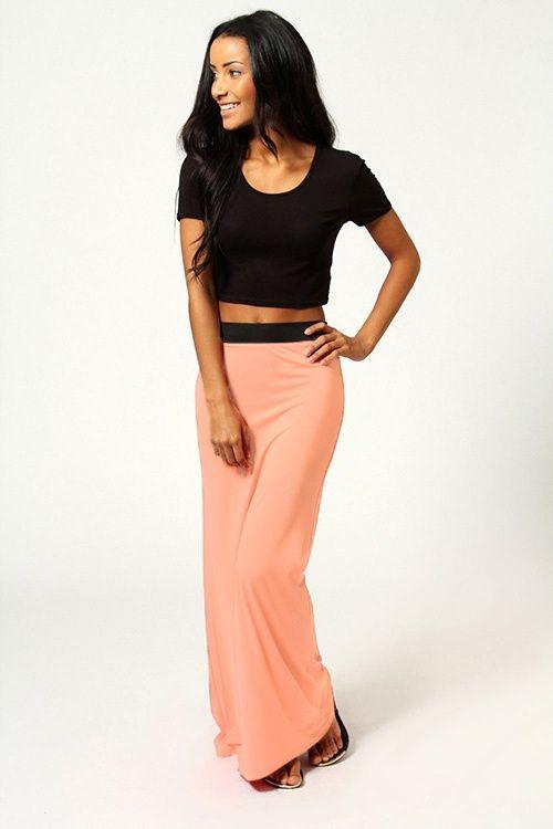 zdjęcie Maxi spódnica DRESOWA 5 kolorów w pełnej rozdzielczości