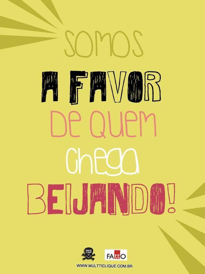 Manifesto do #beijo!