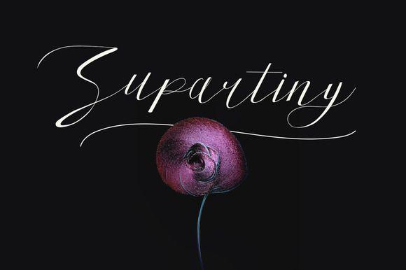 Supartiny Typeface by Maulana Creative on @creativemarket