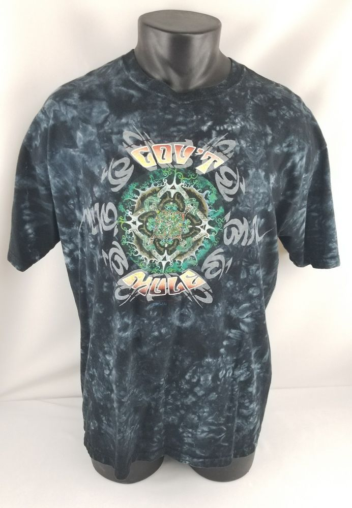 2005 GOV'T Mule-Deja Voodoo Tour Rock Band Concert T-Shirt Adult Large (L) #SundogHandDyed #GraphicTee