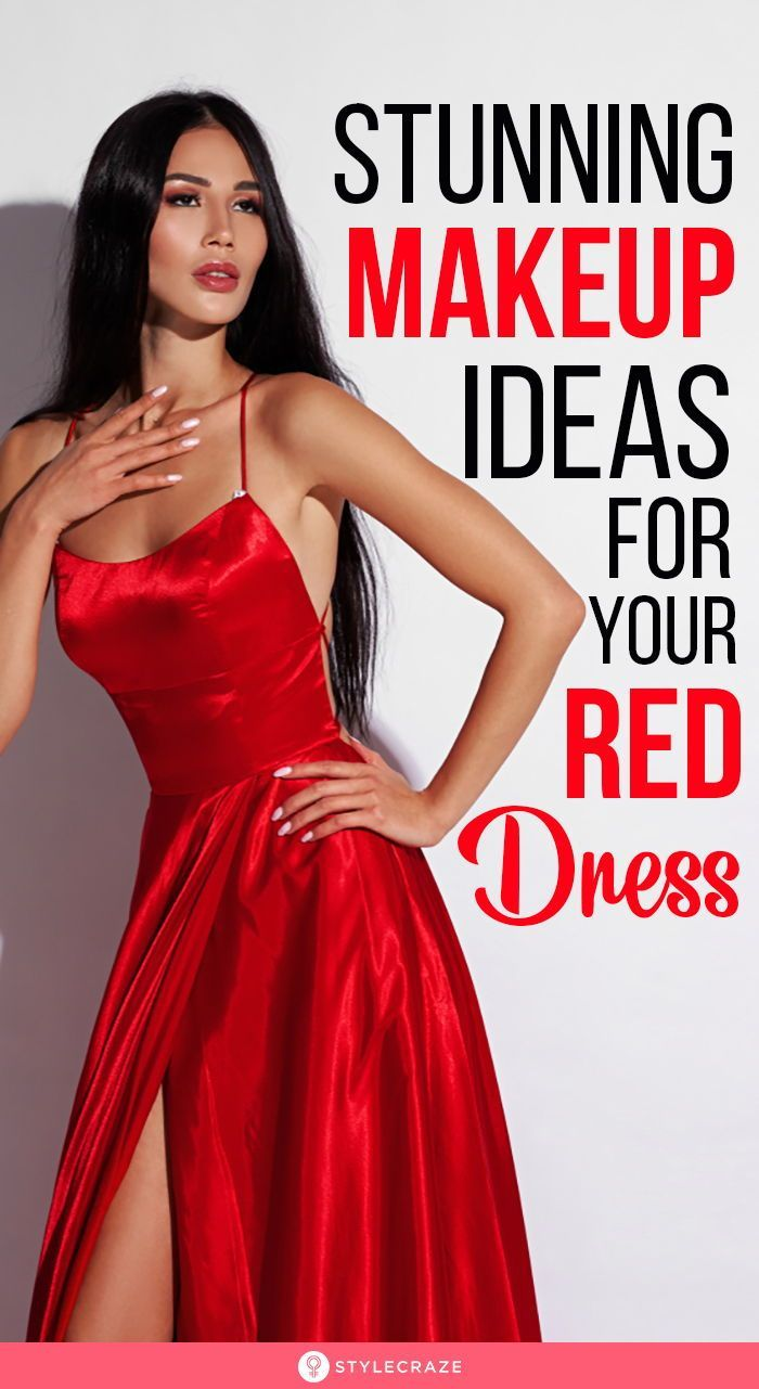 9 Stunning Makeup Ideas You Can Try With Your Red Dress Red Dress Makeup Makeup Looks For Red Dress Red Prom Dress Makeup [ 1281 x 700 Pixel ]