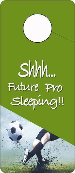 Future Soccer Pro Sleeping Door Hanger