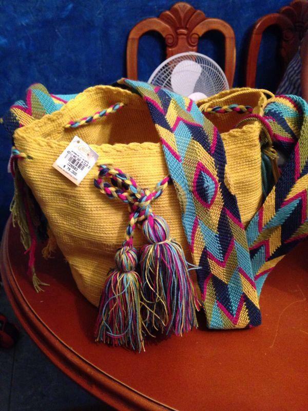 Mochila Wayuu de Colombia
