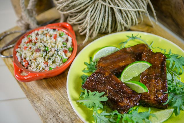 Smoky BBQ Pork Ribs with Ginger http://www.gourmetgarden.com/uk/recipe/view/Smoky-BBQ-Pork-Ribs-with-Ginger