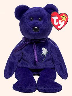 I still have my Princess Diana Beanie Baby. It's mint condition. Who wants to give me $50,000 for it?