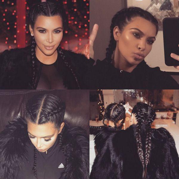 The celebrity braid trend: Kim Kardashian, Katy Perry, Rita Ora and more - HELLO! US
