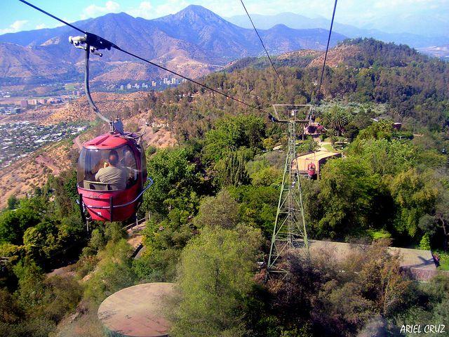 Teleférico Cerro San Cristóbal, Santiago.