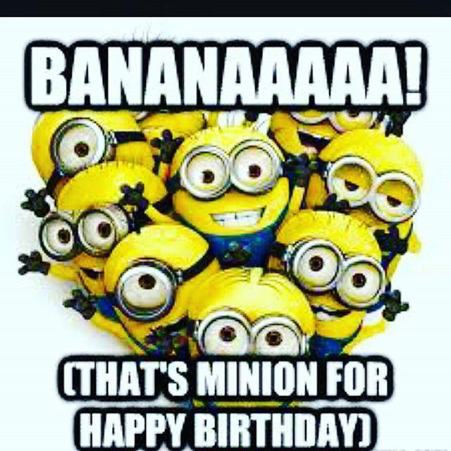 Hervorragend Die besten 25+ Happy birthday minions Ideen auf Pinterest | Singen  MG08